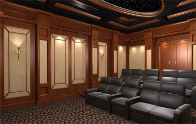 Integrated Electronics Consulting Custom Home Theater
